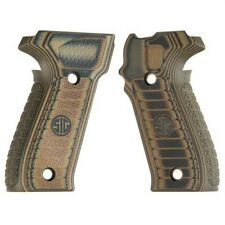 Sig Sauer P226 Legion G10 Grips Select Brown/Green with Sig Logo