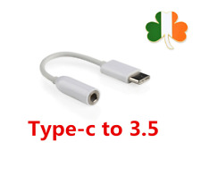 USB Type C to 3.5mm Jack AUX Audio Adapter Converter Cable Headphones Earphones
