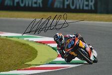 Miguel Oliveira mano firmado 12x8 Foto 2015 Moto3 Red Bull KTM Ajo 4.