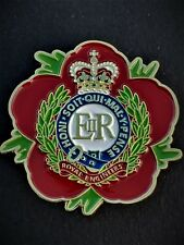 Royal Engineers RE Remembrance Flower Poppy Lapel Pin (P6)