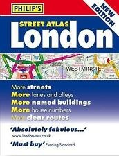 BOOK NEW Philip's Street Atlas London - Mini Paperback Edition by Maps, Philip's