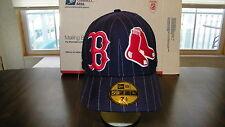 BOSTON RED SOX NEW ERA 59/50, 7 1/2 CAP, BILL SEEMS A TIC OFF, C/PIC, FREE S+H