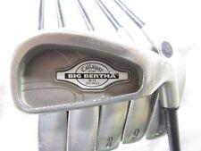 Used Callaway Big Bertha X-12 (5-9, P) Iron Set Callaway RCH 99 Regular Flex