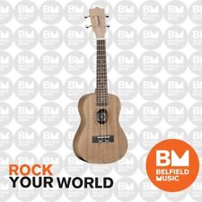 Tanglewood TWT3 Tiare Concert Ukulele All Black Walnut Natural Satin - Brand New