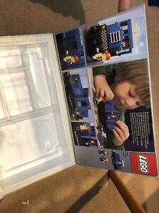 Lego 7760 Box Only Clear Tray 12V Blue Diesel