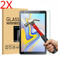 US 2X Samsung Galaxy Tab A 8.0 2018 T387 Tablet Tempered Glass Screen Protector