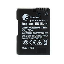 Original a. comercio batería para Nikon en-el14 d3100 d3200 d5100 d5200 d7700 d7800