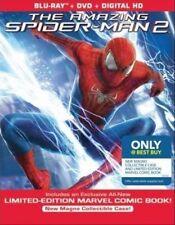 THE AMAZING SPIDERMAN 2 *COOL  MAGNO CASE* + COMIC BOOK (BluRay/Dvd)