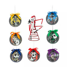 Disney Nightmare Before Christmas Tree Topper & Ornament Set Jack Skellington