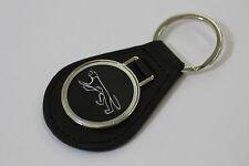 1967 - 2002 Mercury COUGAR  - Leather Key Fob (Keychain) w/ Cougar Logo