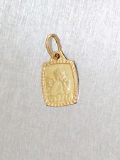 Anhänger Schutzengerl Gold 585 - Goldanhänger - Anhänger in 14 kt Gold