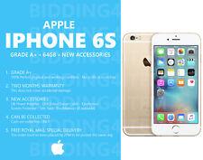 Grado A +: Apple Iphone 6s - 64GB-Dorado (Desbloqueado) Teléfono Inteligente + Accesorios