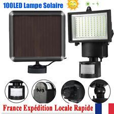 100LED plein air Energie solaire Lampe de detecteur de mouvement Lampe de secu