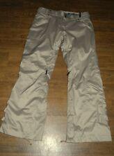 NEW OAKLEY SKI SNOWBOARD Flap pockets Boot cut Men's Beige Pants Sz S Small