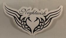 NIGHTWISH TRIBAL WINGS LOGO VINYL STICKER OFFICIAL LICENSED PRODUCT 2007 FINLAND