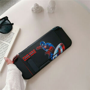 Cartoon anime Super hero Nintendo Switch Case Skin soft Shell Protective cover