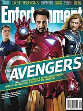 Entertainment Weekly Magazine The Avengers Cast Reunions In Living Color 2012