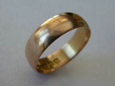 9 Carat Rose Gold Precious Metal Rings without Stones