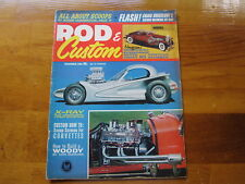 Rod & Custom Magazine December 1963, All About Scoops, by Roger Huntington