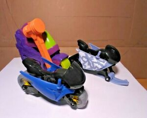 Imaginext 3Vehicles Snowmobile, Motorcycle & Hammer Cycle EUC