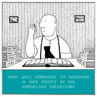 Cornflake Collection Funny Fred Birthday Card Rupert Fawcett Humour Cards