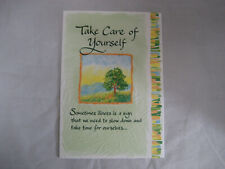 "Blue Mountain Arts Greeting Card ""Take Care Of Yourself"" (Bm148)"
