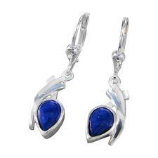 Schmuck-Michel Damen Ohrhänger Silber 925 Lapis lazuli Tropfen (1000)