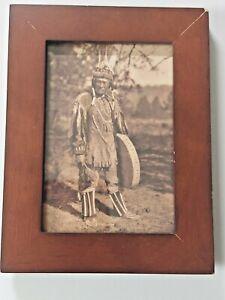 Klamath Indian Photo by Edward S. Curtis Framed