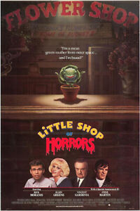 Little Shop of Horrors (1986) original movie poster - single-sided - rolled