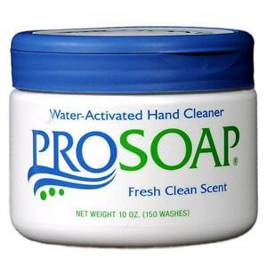 10oz Flip Top ProSoap Hand Cleaner Industrial Mechanic Automotive Soap with Grit