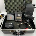 Sony DAT Walkman Recorder Set TCD-D3 Condenser Microphone ECM-S220 Case Charger