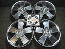 "GM Accessory Camaro 21"" Factory POLISHED OE Wheels 20X8.5 BRAND NEW UN-USED"