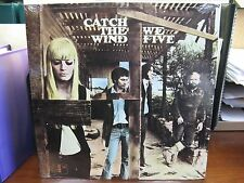 Mint LP - WE FIVE - Catch the Wind - Vault 136 Stereo - Sealed
