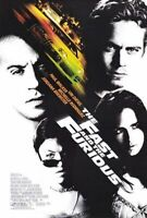 The Fast And The Furious (Einzel Seiten) (2001) Original Filmposter
