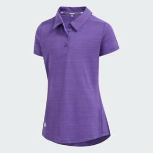 ADIDAS Junior Girls Golf Polo Shirt