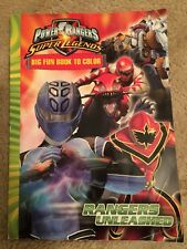 Power Rangers Super Legends Big Fun Book To Color Rangers Unleashed
