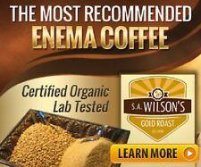Enema Coffee Premium Grind - Certified Organic - SA Wilson's - 500g - Australia