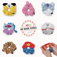 BT21 Character Doll Scrunchy Hair Tie 7types Official K-POP Authentic Goods