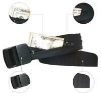 Travel Security Money Belt with Hidden Money Pocket -cash safe Anti-Theft Wallet