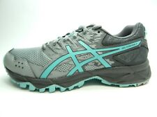 ASICS GEL SONOMA 3 T774N MID GREY AQUA SPLASH CARBON WOMEN SHOES SIZE 5.5