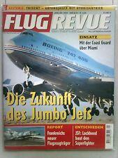 FLUG REVUE  Januar 2002      in Schutzhülle