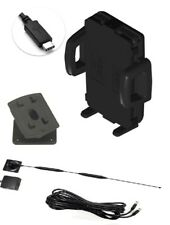 Strike Universal Alpha car cradle with 5db on-glass antenna with charger