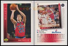 NBA UPPER DECK 1993/94 - Brent Price # 69 - Bullets - Ita/Eng - MINT