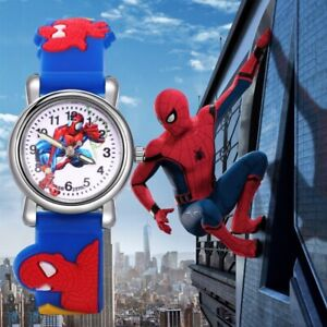 Kids Spiderman Watch Sports Silicon Boys Girls Superheroes Watches Many Colours