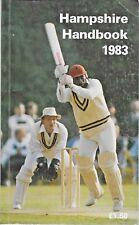 Cricket HAMPSHIRE HANDBOOK 1983 Hampshire County Cricket Club Paperback