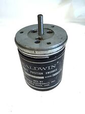 USED BALDWIN44B233183-002 SHAFT POSITION ENCODER, GREAT CONDITION, G145