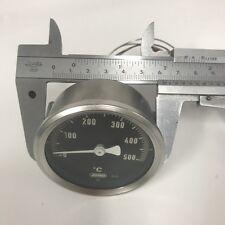 Thermometer 0-500°C für GGF Pizzaofen Temperaturanzeige Zeigerthermometer D60