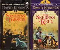 Complete Set Series - Lot of 5 The Malloreon books by David Eddings Murgos Kell