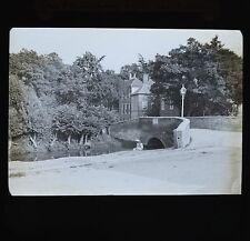 c1890s Magic Lantern Slide Photo Strawberry Lane Carshalton Sutton Surrey
