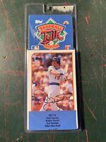 1989 Topps LJN Baseball Talk set #15 Robin Yount Milwaukee Brewers Tom Seaver